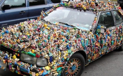 Ремонт автомобиля своими руками, 40 нелепых фотографий