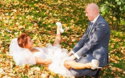 «Шедевры» свадебной фотографии из серии «Никогда так не снимай!», 36 фото