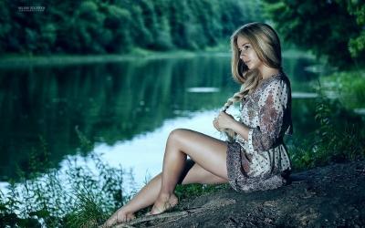 40 фото инстраграмщиц на речке, или когда этим летом море не светит