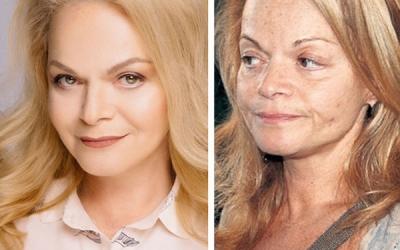30 фото знаменитостей без макияжа