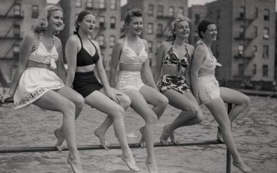 Советские красотки на пляже