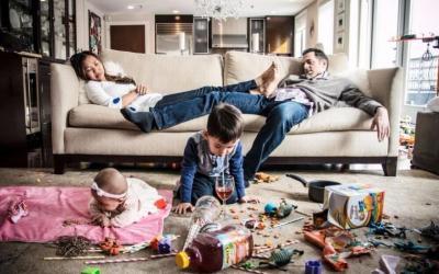 Когда родители устали: 25 смешных фото