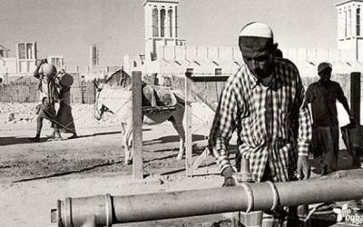 Как выглядел Дубай до того, как там нашли нефть (14 фото)
