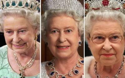 Драгоценности королевы: самые известные тиары и диадемы Елизаветы II (30 фото)
