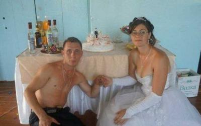 Тотальный трэш деревенских свадеб: 20 смешных фото
