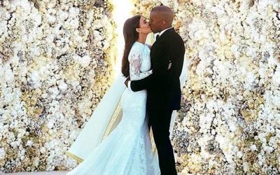 Самые красивые свадебные платья известных людей, 30 фото