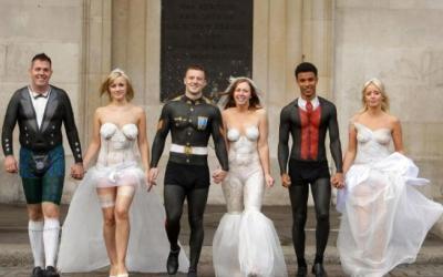 100 сумасшедших свадебных фото, от которых можно порвать живот