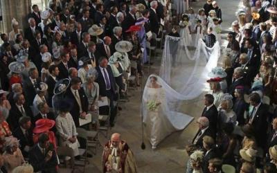 20 интересных фактов о свадьбе принца Гарри и Меган Маркл в фотографиях