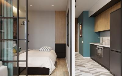 Интересные идеи для обустройства малометражной квартиры, 40 фото