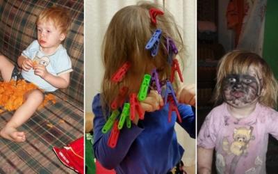 Дети, которые на минутку остались без присмотра, 30 фото