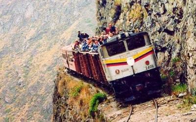 30 фото самых экстремальных дорог мира