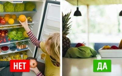 20 видов продуктов, которые не следует хранить в холодильнике