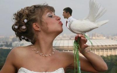 """Самые смешные """"шедевры"""" свадебного фотошопа"""