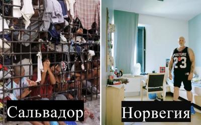 Как выглядят тюремные комнаты в разных странах