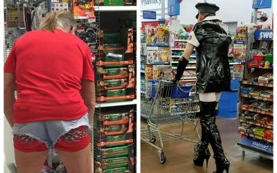 45 фото колоритных посетителей супермаркетов