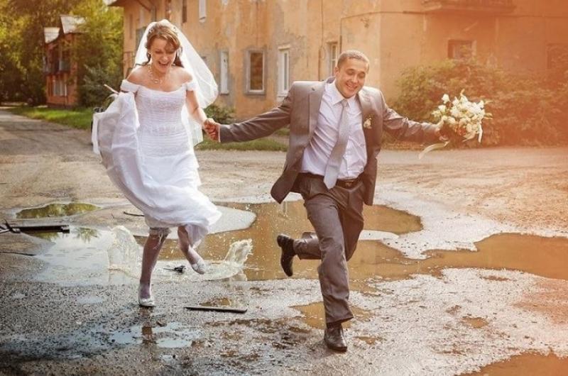 Днем, картинки со свадьбой смешные